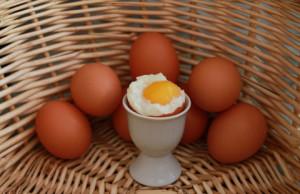 clara de huevo para acne