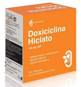doxiciclina hiclato 100 mg acné